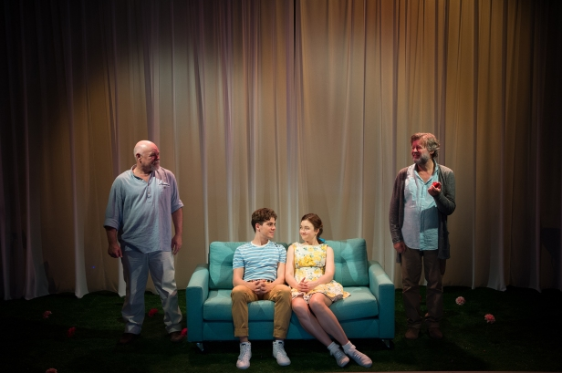 Laurence Coy, Jonathan Hickey, Bobbie-Jean Henning and Garry Scale in The Fantasticks (c) Marnya Rothe